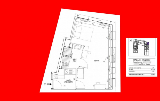IMMOG Le Haillan Agent Immobilier Appartement | BORDEAUX (33000) | 33 m2 | 207 276 €