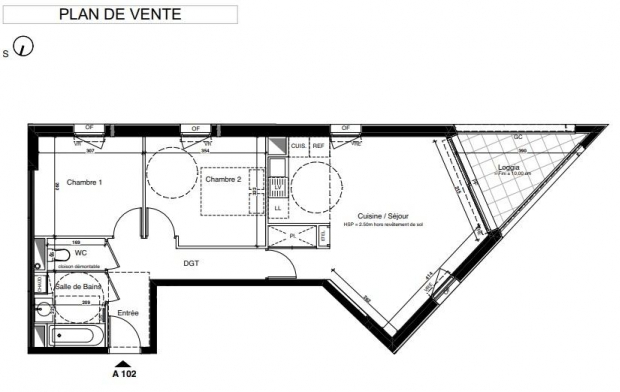 IMMOG Le Haillan : Appartement | MERIGNAC (33700) | 61 m2 | 289 000 €